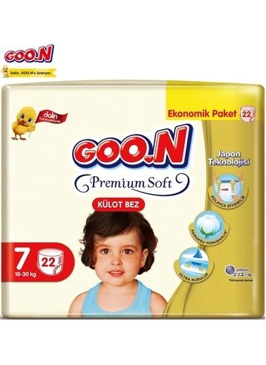Goo.n Goon Premium Soft Külot Bebek Bezi No:7 22 Adet Beyaz
